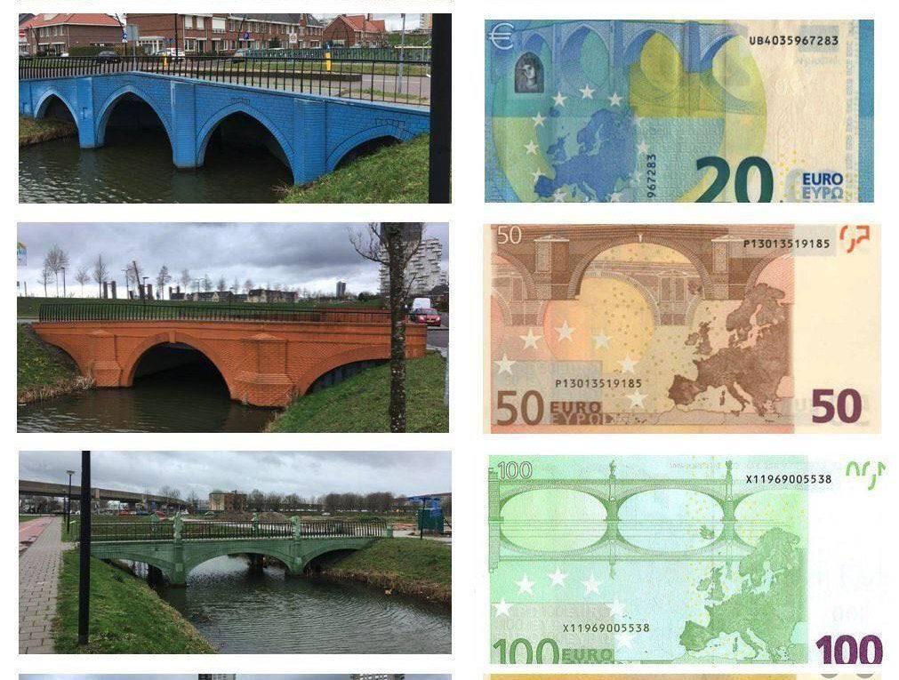 Мосты на банкнотах