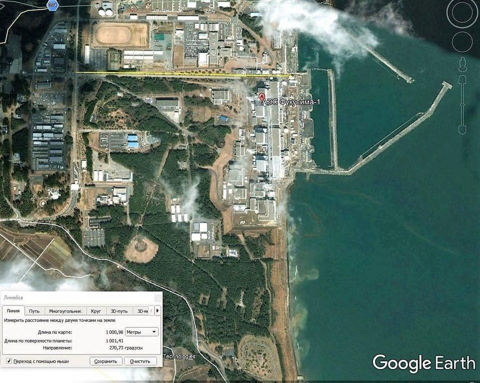 АЭС Фукусима до катастрофы